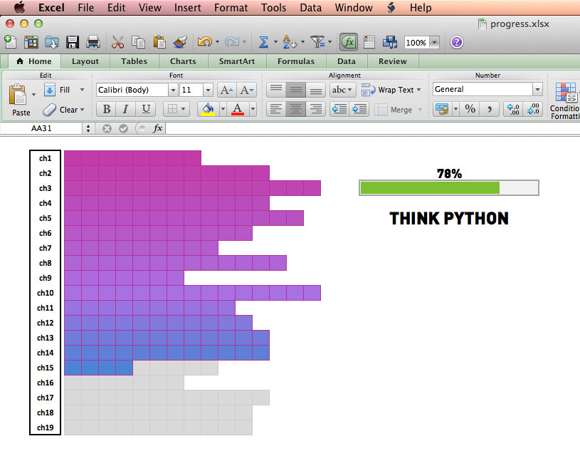 excel gamification